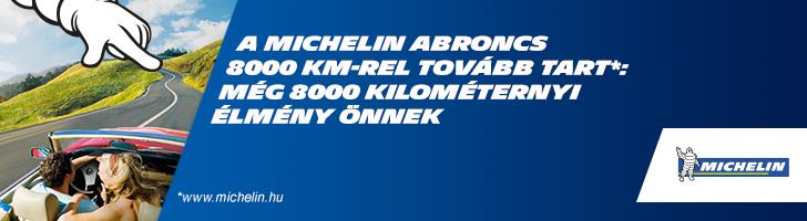 Michelin promóció 8000